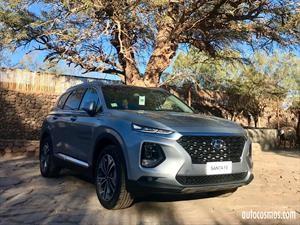 Hyundai Santa Fe 2019 fue presentado en Chile antes de llegar a Colombia