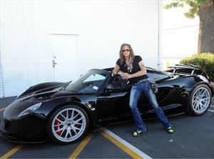 Steven Tyler pone en venta a su Hennessey Venom GT Spyder