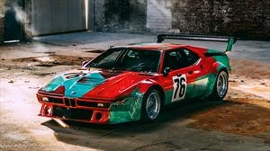 BMW M1 Art Car de Andy Warhol festeja 40 años con un espectacular photo shooting