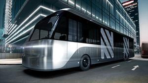 Neuron Electric Bus es un autobús eléctrico que puede transformarse de tamaño