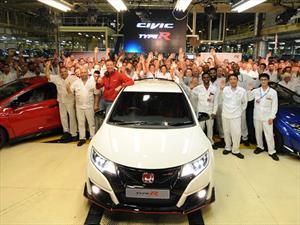 Comenzó la producción del Honda Civic Type R
