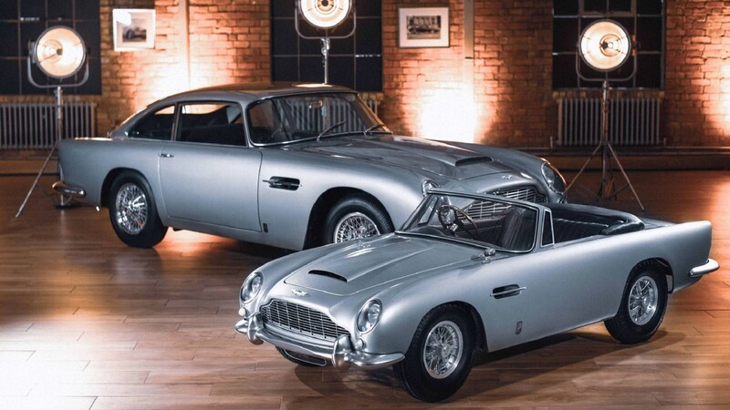 Aston Martin DB5 Junior, juguete para mini-espías
