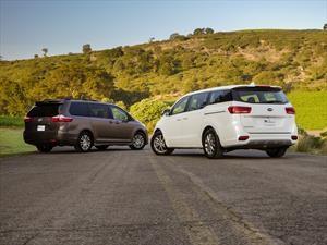 Toyota Sienna vs KIA Sedona