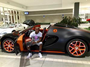 Ahora Floyd Mayweather compra un Bugatti Veyron Grand Sport Vitesse