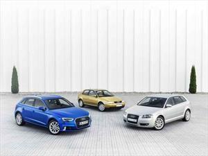 Las 3 generaciones del Audi A3