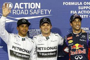F1 GP de Bahrein, Nico Rosberg larga primero