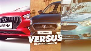Chevrolet Sail vs Hyundai Verna vs Suzuki Dzire, sedanes luchando contra la extinción