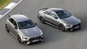Mercedes-AMG A 45 y CLA 45, su tamaño no está a la par de su nivel de deportividad