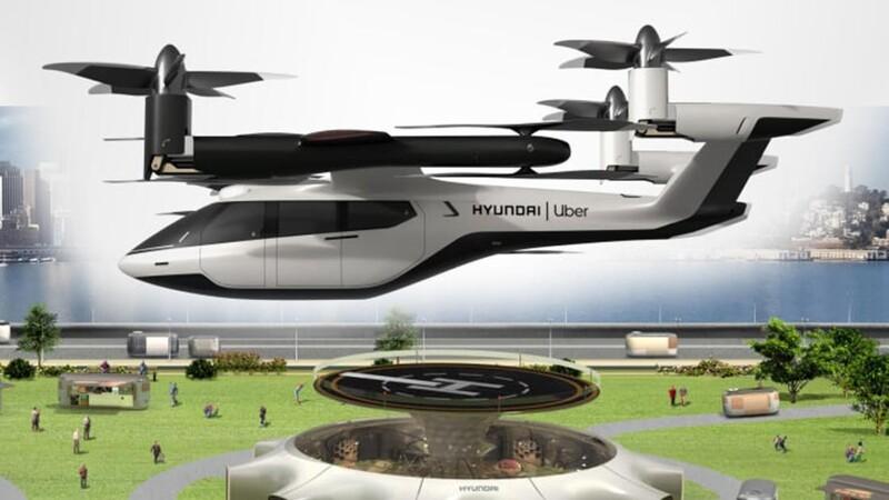 Hyundai desarrollará vehículos voladores para el transporte urbano