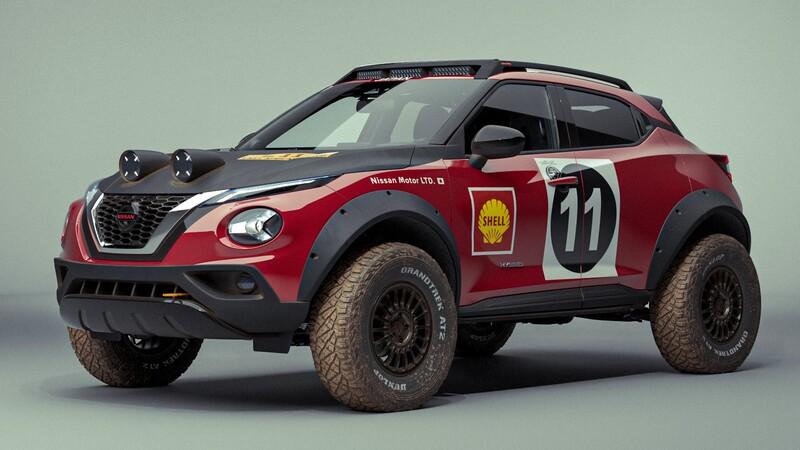 Nissan Juke Rally Tribute Concept: un homenaje al 240Z de rallies