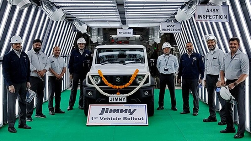 Suzuki Jimny  inicia su producción en India para cubrir los pedidos de América Latina