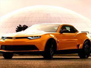 Chevrolet Camaro Concept 2014 se presenta, BumbleBee se renueva