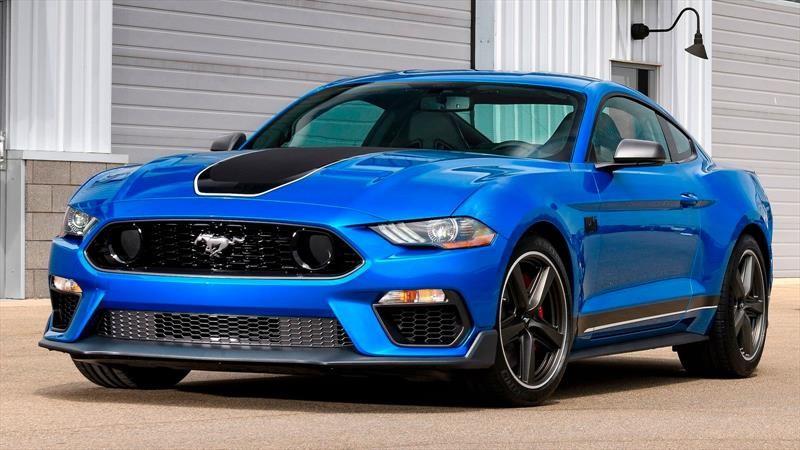 Ford Mustang Mach 1 2021 se presenta