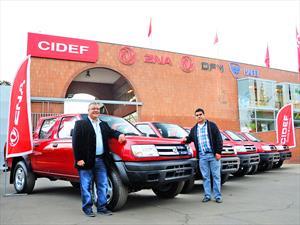 Camionetas ZNA Rich: Nuevamente elegida por Airex para renovar su flota