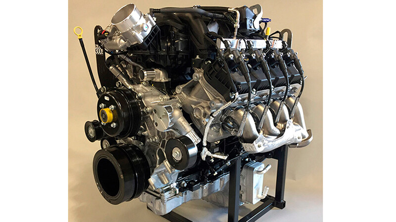 El motor V8 Godzilla de la Ford F-Super Duty sale a la venta
