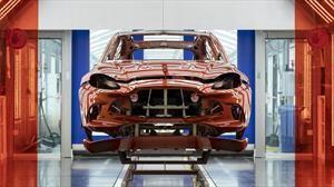 Aston Martin inicia la producción del DBX en Gales