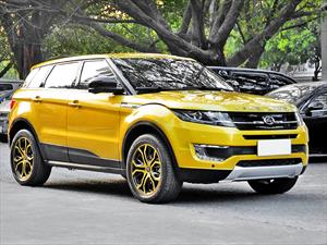 Landwind X7, una copia china del Range Rover Evoque