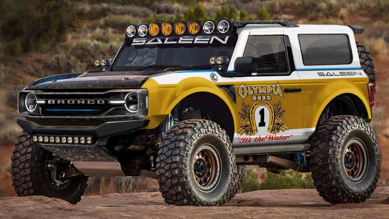 Así luciría el Ford Bronco modificado por Saleen