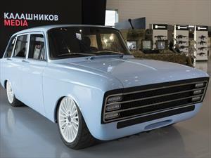 Kaláshnikov CV-1 es el cuerno de chivo de los autos eléctricos