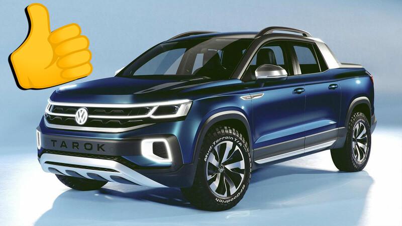 Buenas noticias: la anti-Toro de Chevrolet podría hacer que VW adelante la Tarok