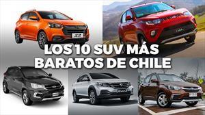 Top 10: Los SUV y crossover para todos los bolsillos de Chile