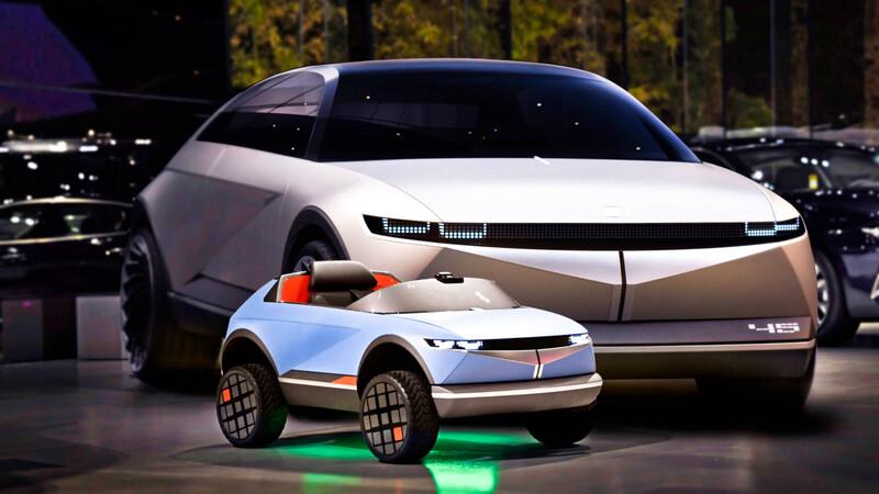Hyundai construye un auto de juguete eléctrico