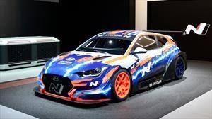 Hyundai Veloster N ETCR 2020 un nuevo y apasionante auto de carreras eléctrico