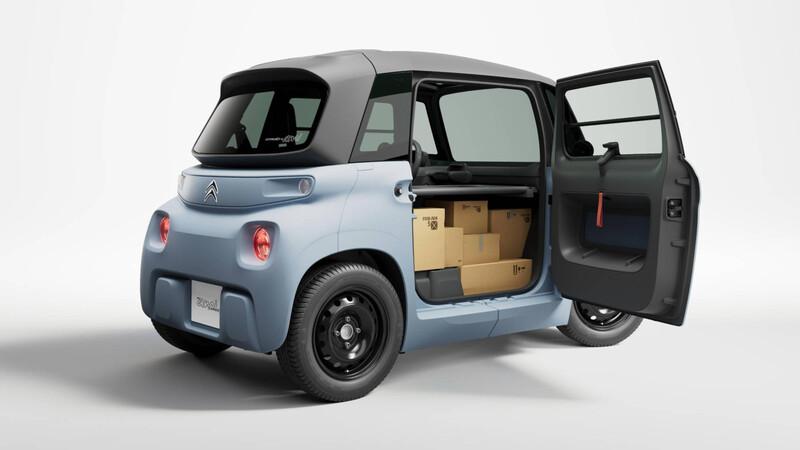 Citroën convierte al AMI en el furgón mas diminuto y adorable