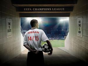 Nissan ahora juega en la UEFA Champions League