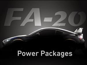 Cosworth confirma preparación sobre el Subaru BRZ