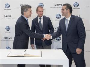Grupo Volkswagen anuncia su plan de inversiones en Argentina