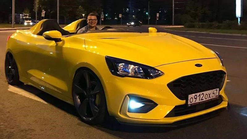 Ford Focus Speedster, un hatchback se transforma en un biplaza
