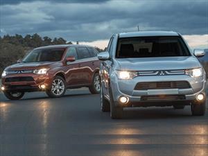 Mitsubishi Outlander y ASX 2014 obtienen el Top Safety Pick del IIHS