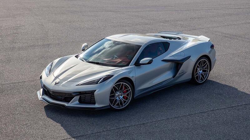 Esta es la primera foto oficial del nuevo Chevrolet Corvette Z06 2023