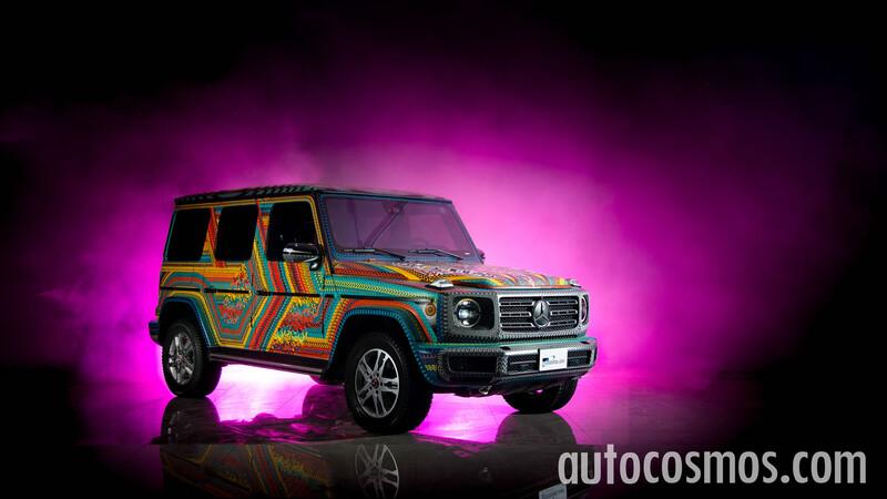 Mercedes-Benz Clase G Alebrije, más que una artesanía una espectacular obra de arte