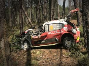 WRC 2018: Compilado de accidentes
