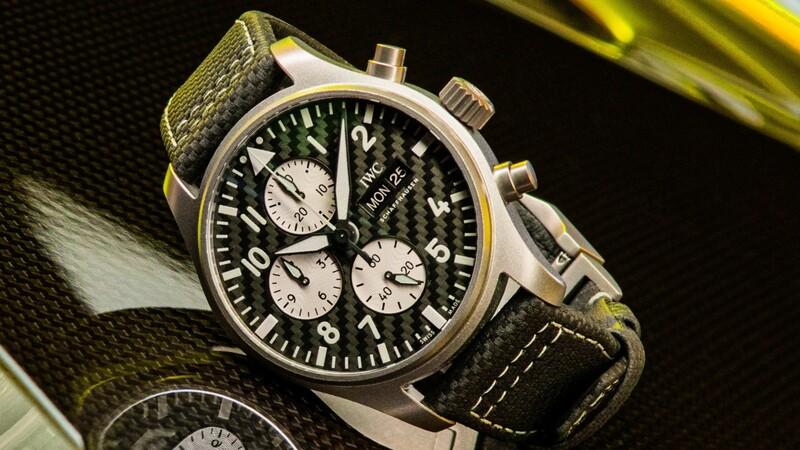 "Pilot's Watch Chronograph Edition ""AMG"": un reloj de IWC con todo el sello de Mercedes-AMG"