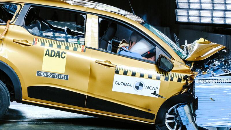 Video: Renault mejoró la seguridad de la plataforma del Kwid
