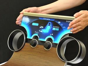 Llegan los tableros con pantallas de contorno irregular