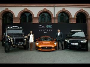 Carros Jaguar-Land Rover de SPECTRE, pasaron por Frankfurt