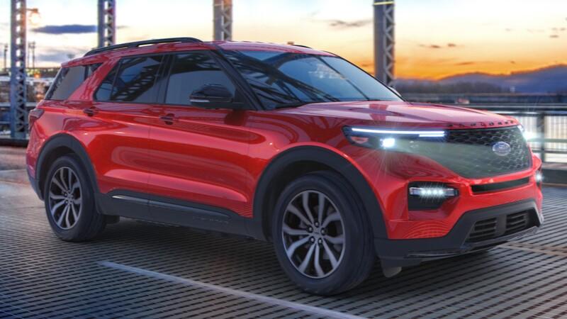 Ford Explorer Enthusiast ST 2021, con tracción trasera