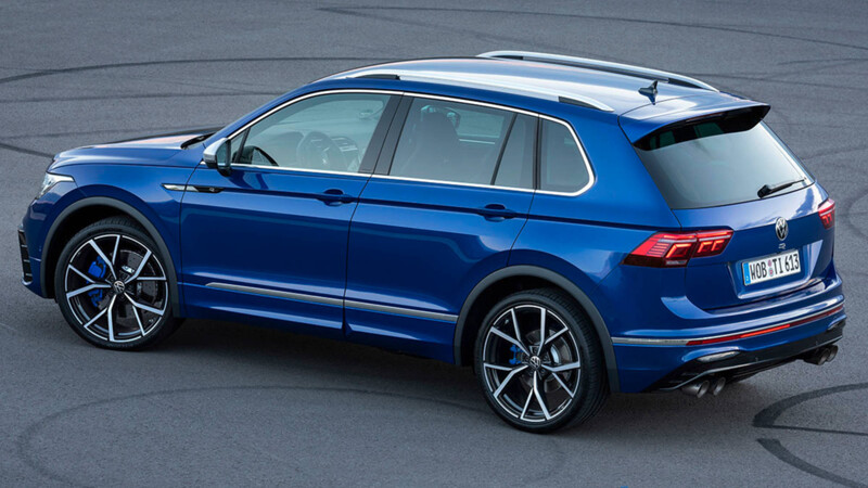Volkswagen Tiguan R 2021: más de 320 Hp y la dinámica de un deportivo