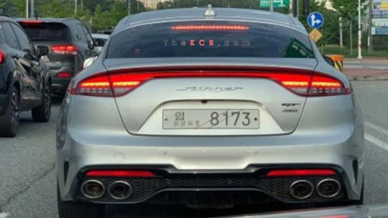 El facelift del Kia Stinger se deja ver en Corea con motores más potentes
