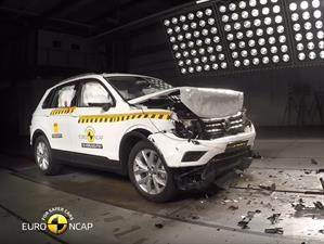 "Volkswagen Tiguan es la ""Best in the Class"" según Euro NCAP"