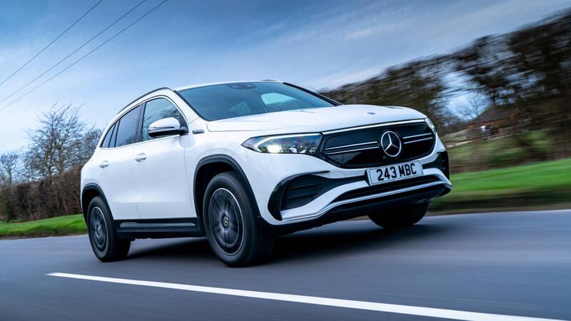 El Mercedes-Benz EQA tiene versiones más potentes