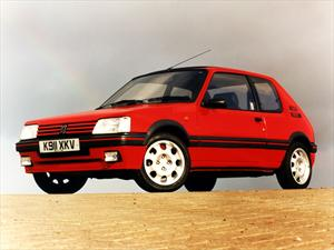 Peugeot 205 celebra sus primeros 30 años de vida