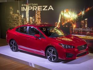 Subaru Impreza 2017, disponible en sedán y hatchback