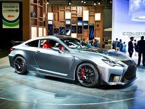 Lexus lanza un RC F listo para la pista