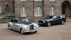 Bentley celebra 60 años de su emblemático motor V8