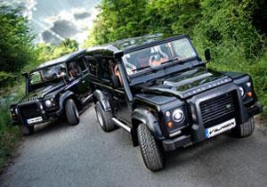 Vilner equipa al Land Rover Defender